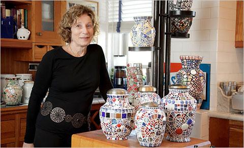 Mosaic Artist Sybil Sage